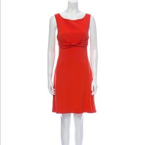 Diane Von Furstenberg Orange Mini Dress US 8
